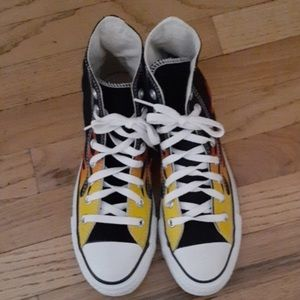 Converse Chuck Taylor Flame Hightops